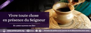 retraite en ligne carême 2018 carmes paris