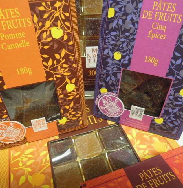 Pâtes de fruits de l'abbaye de Landévennec