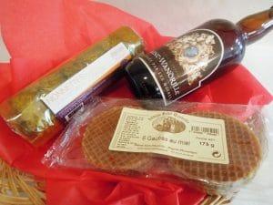 Nonnettes, gauffres et bière de l'abbaye de Saint-Wandrille