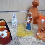 Vierges et crèches de fabrication monastique