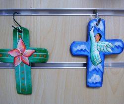 Croix peintes (art haïtien)