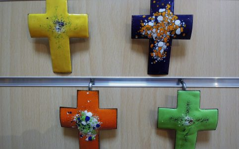 Nouveau choix de croix en émail (abbaye de Ligugé)