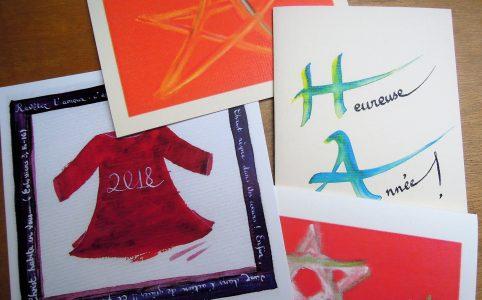 Cartes de vœux (Carmel du Havre)