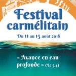 Festival carmélitain - Affiche