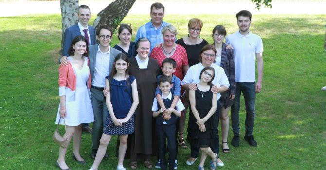 Soeur Christine et sa famille