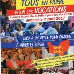 Prière pour les vocations en Normandie