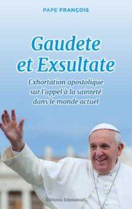 lecturels-spirituelles-gaudete-et-exsultate-pape-francois