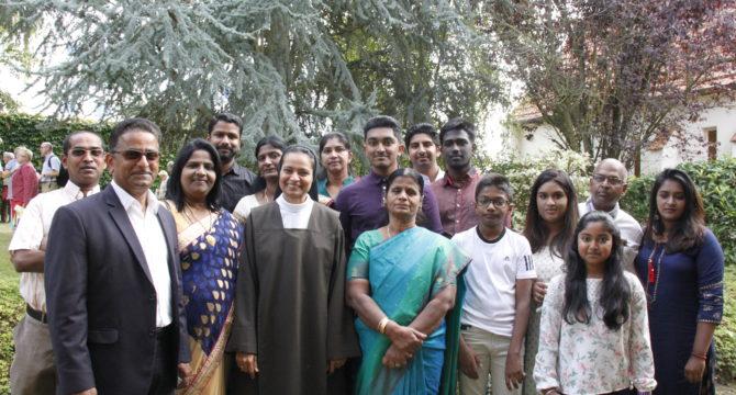 Sr Sabrina et sa famille