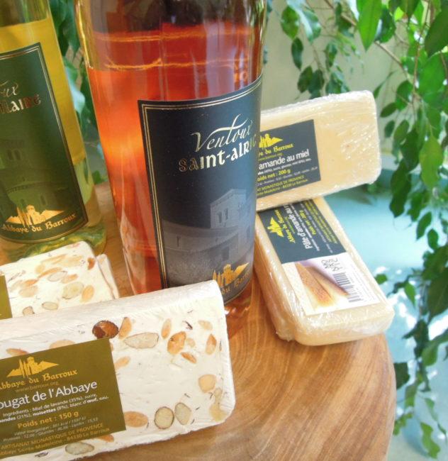 Vins et douceurs méridionales de l'abbaye du Barroux