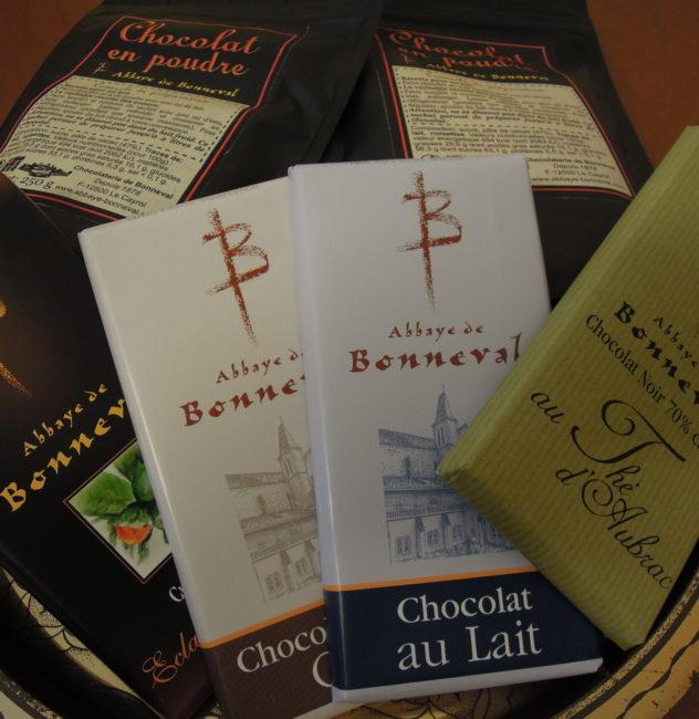chocolat de la Trappe de Bonneval