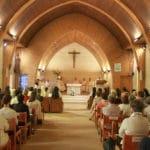 célébration du Jubilé dans la chapelle du Carmel