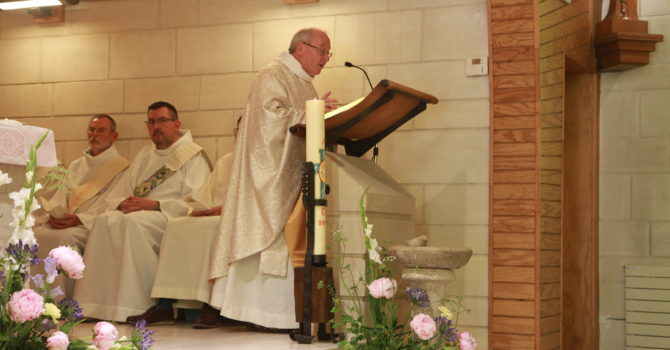Homélie du Jubilé de Soeur Christine par fr. Philippe Hugelé OCD