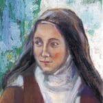 sainte Thérèse de Lisieux, peinture des carmélites de Reno, USA